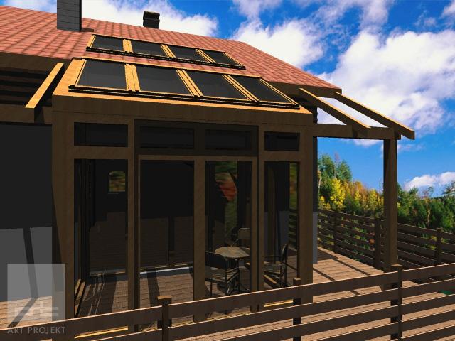 Rekreačná chata - Modra Harmónia