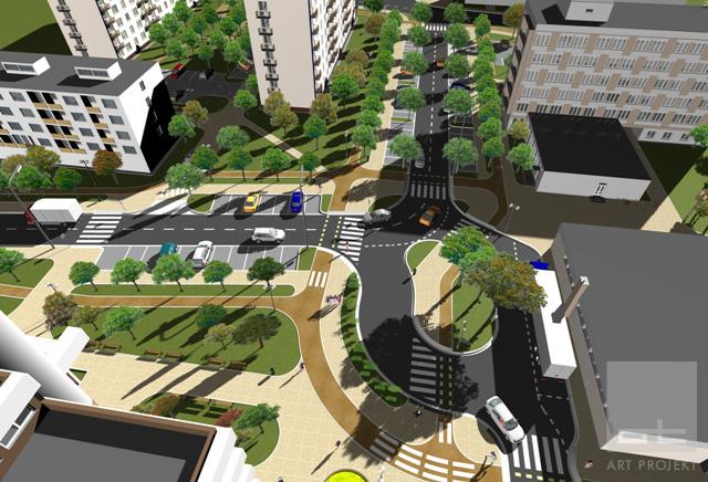 Revitalizácia mestskej zóny - Nám. J. Herdu Trnava