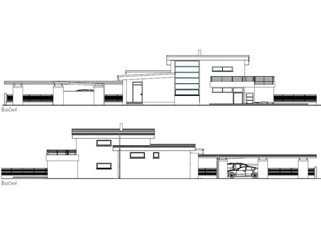 Medzipodlažný dom na rovine - Leopoldov
