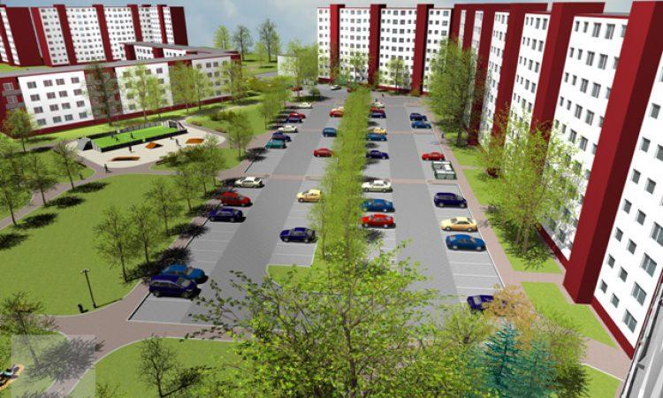 Doplnenie parkovacích miest - Clementisova ul. Trnava