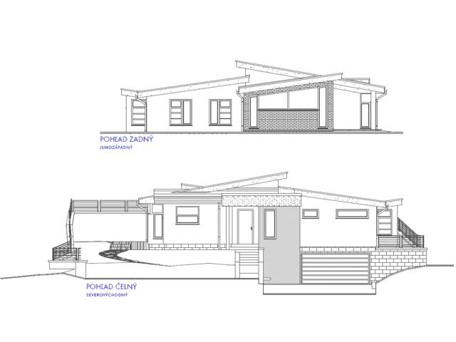 Dom vo svahu - Dolné Dubové