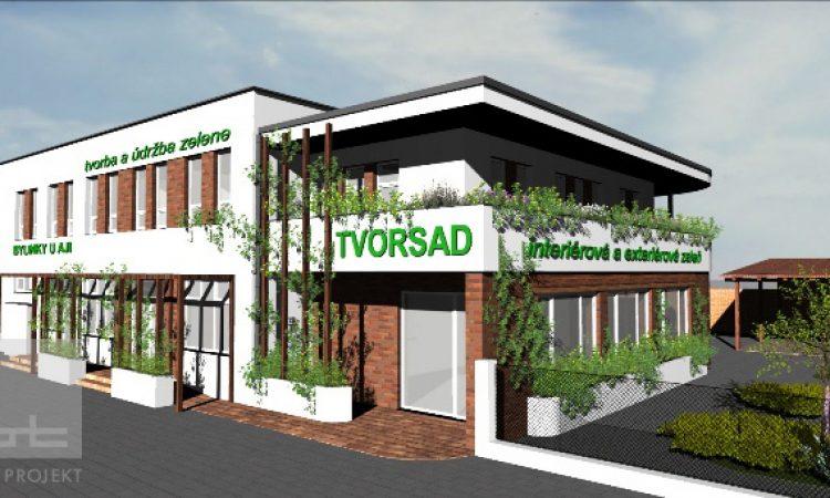 Prístavba záhradného centra - Trnava