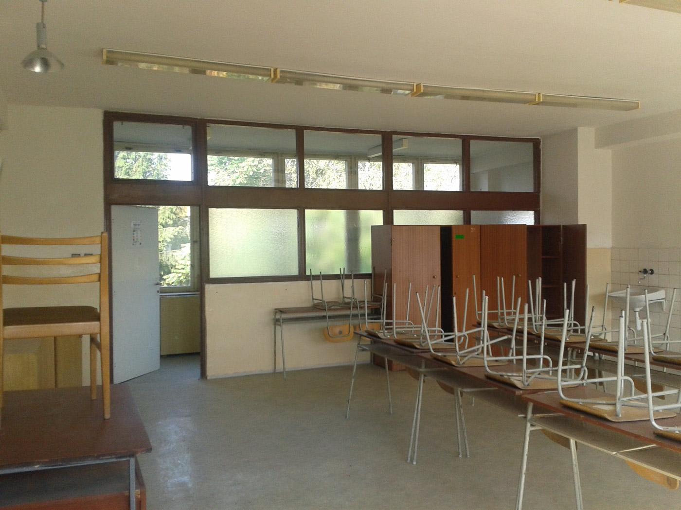 Interiér Gymnázia Besst  – Trnava