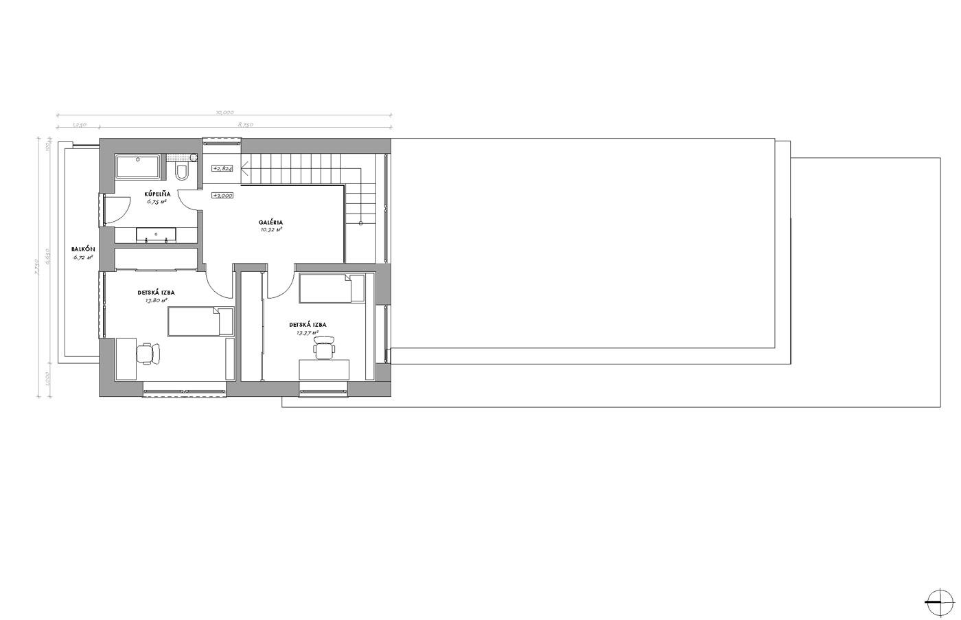 Dom úžší ako garáž – Šúrovce