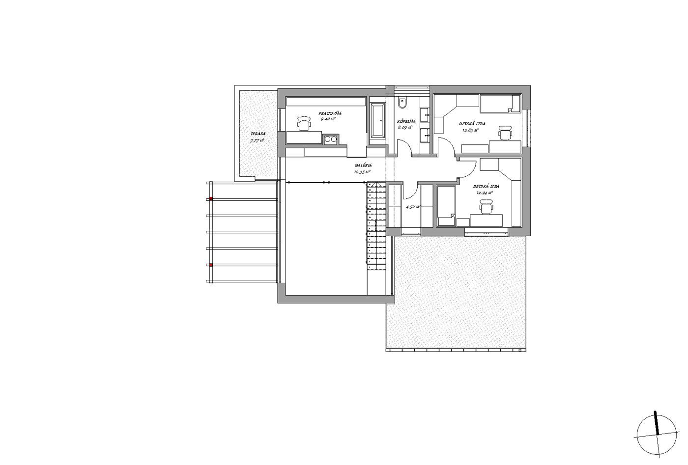 Dom na malom pozemku  – Slovenský Grob