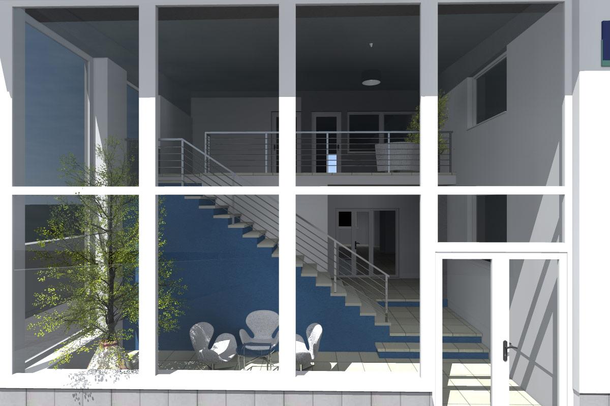 Vstupné priestory firmy K.I.T. – Trnava