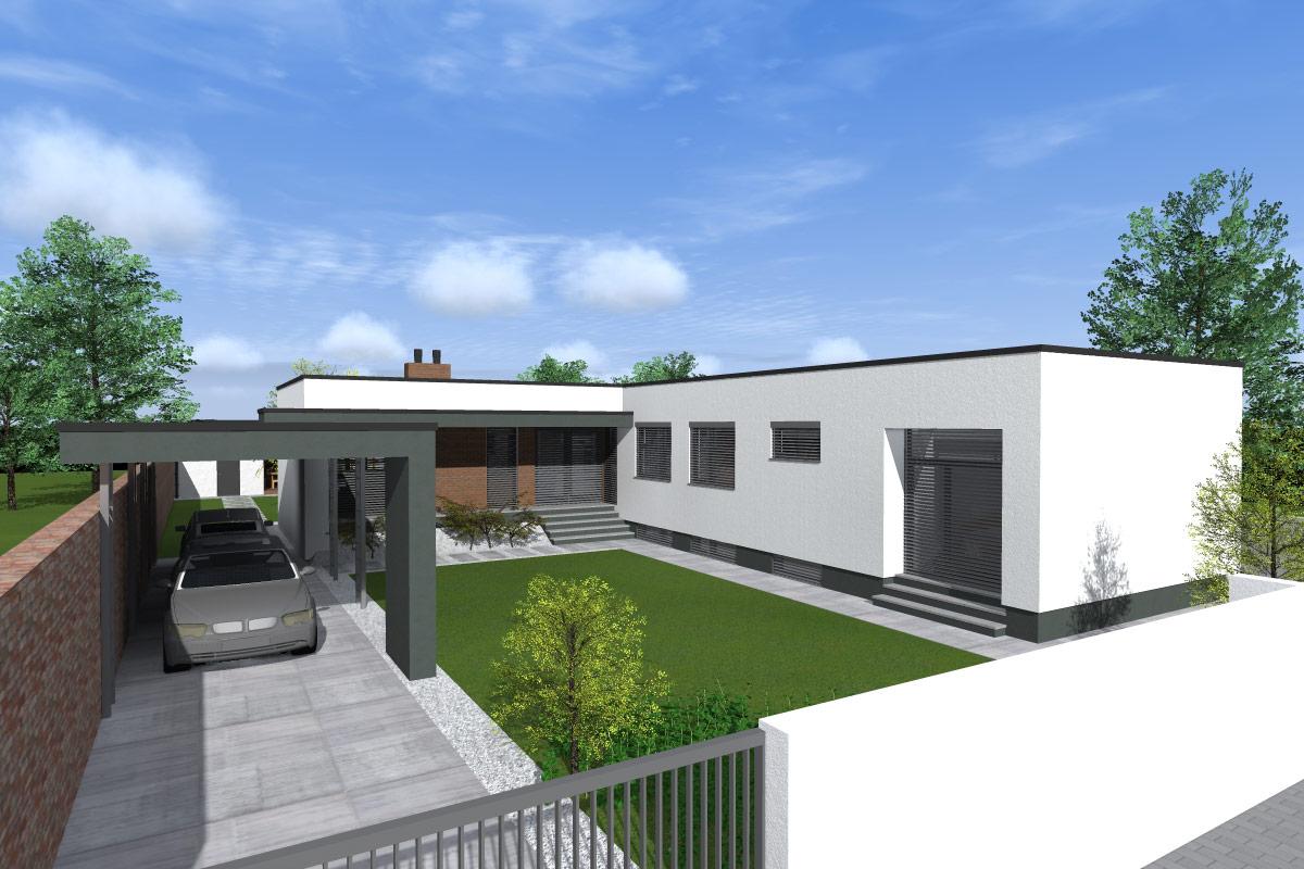 """""""Od socializmu k minimalizmu""""- bungalov v Trnave"""