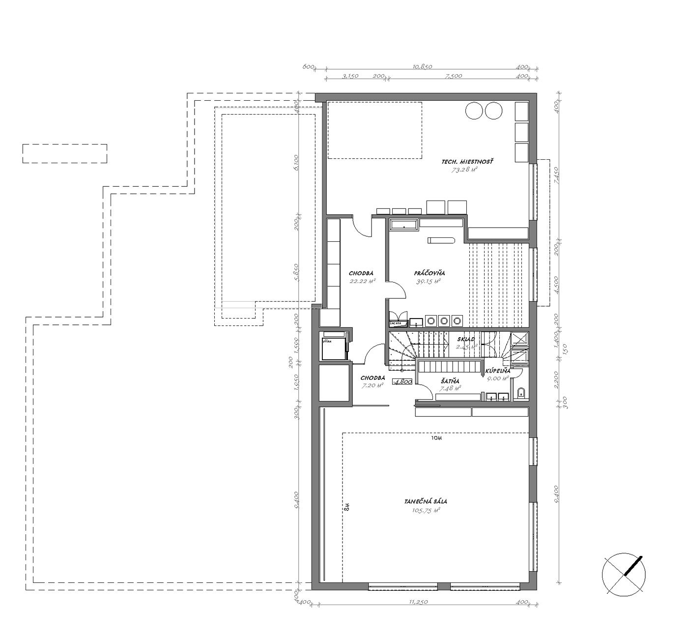 Dom s tanečnou školou - Trnava