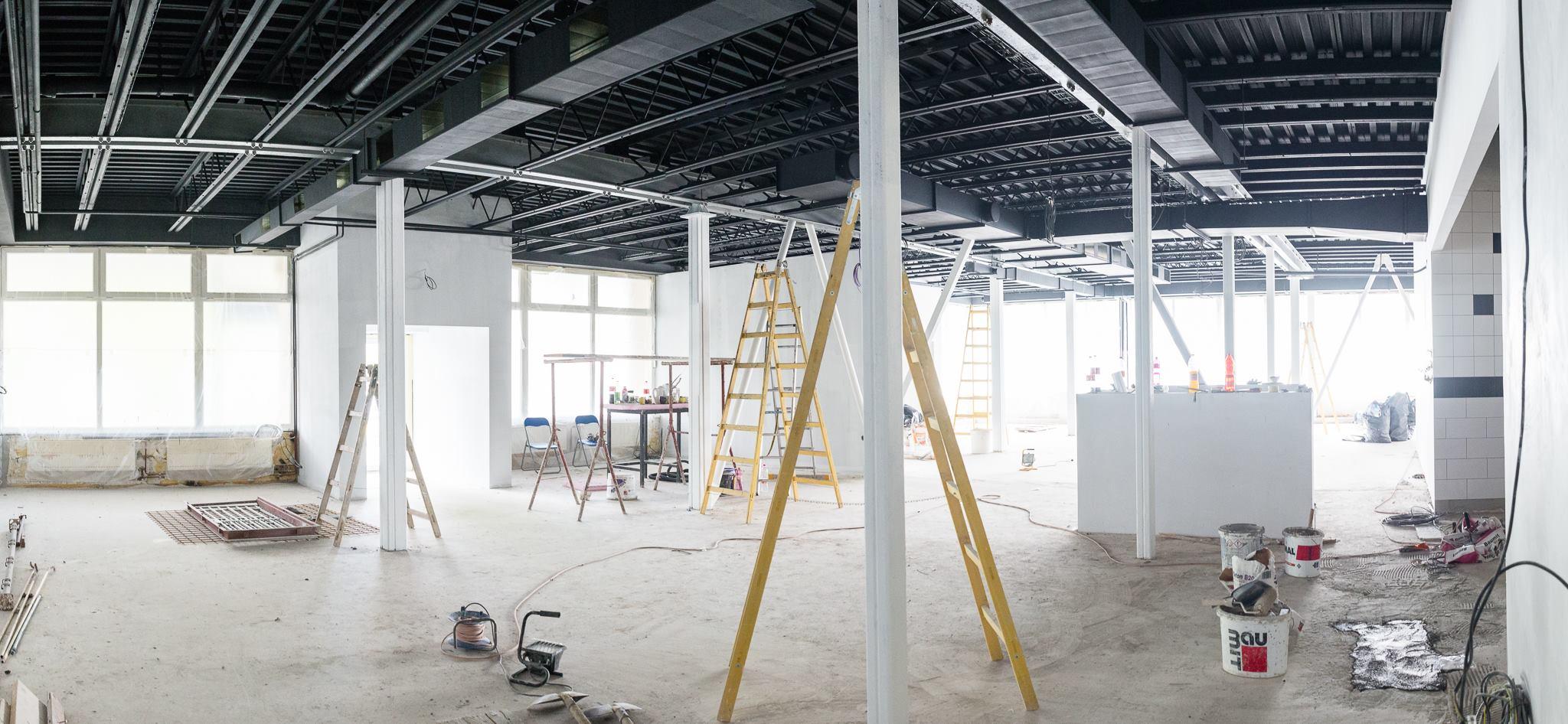 Rekonštrukcia reštaurácie TiAmo v Trnave