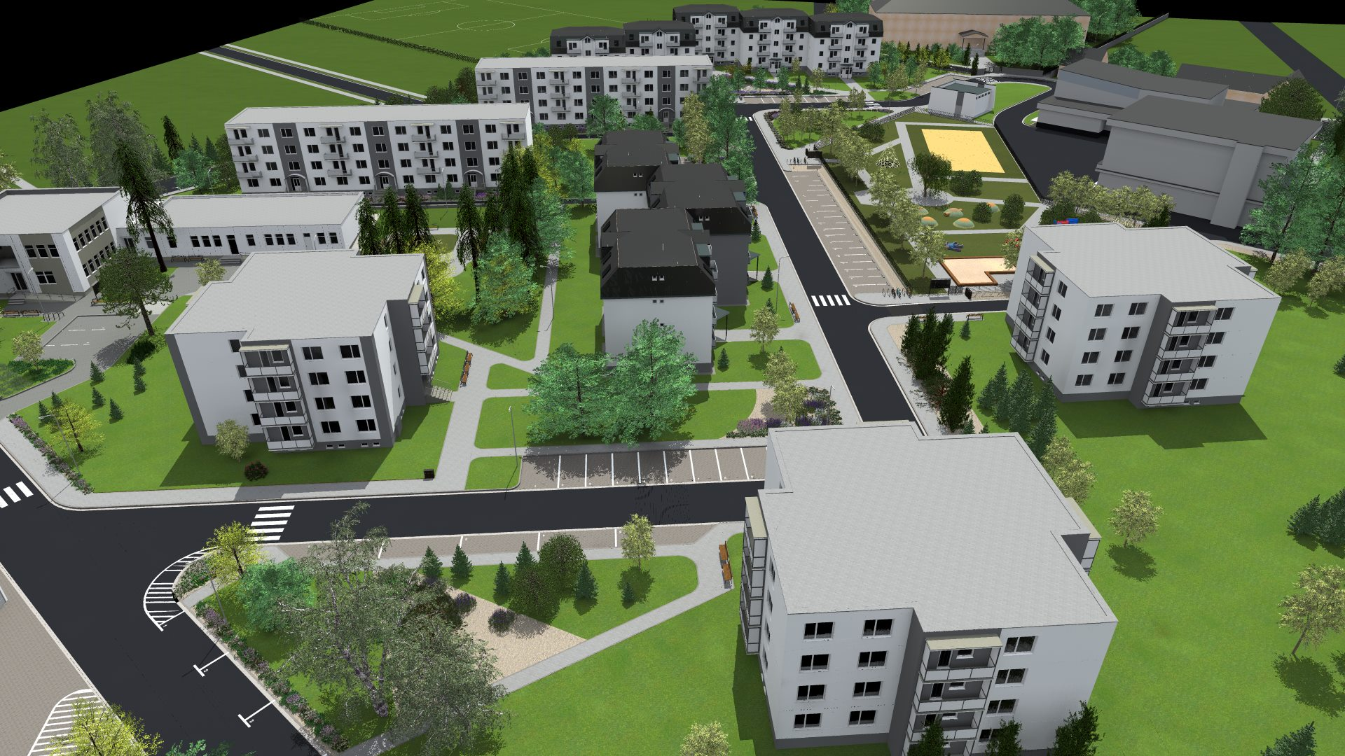 Revitalizácia sídliska - JB