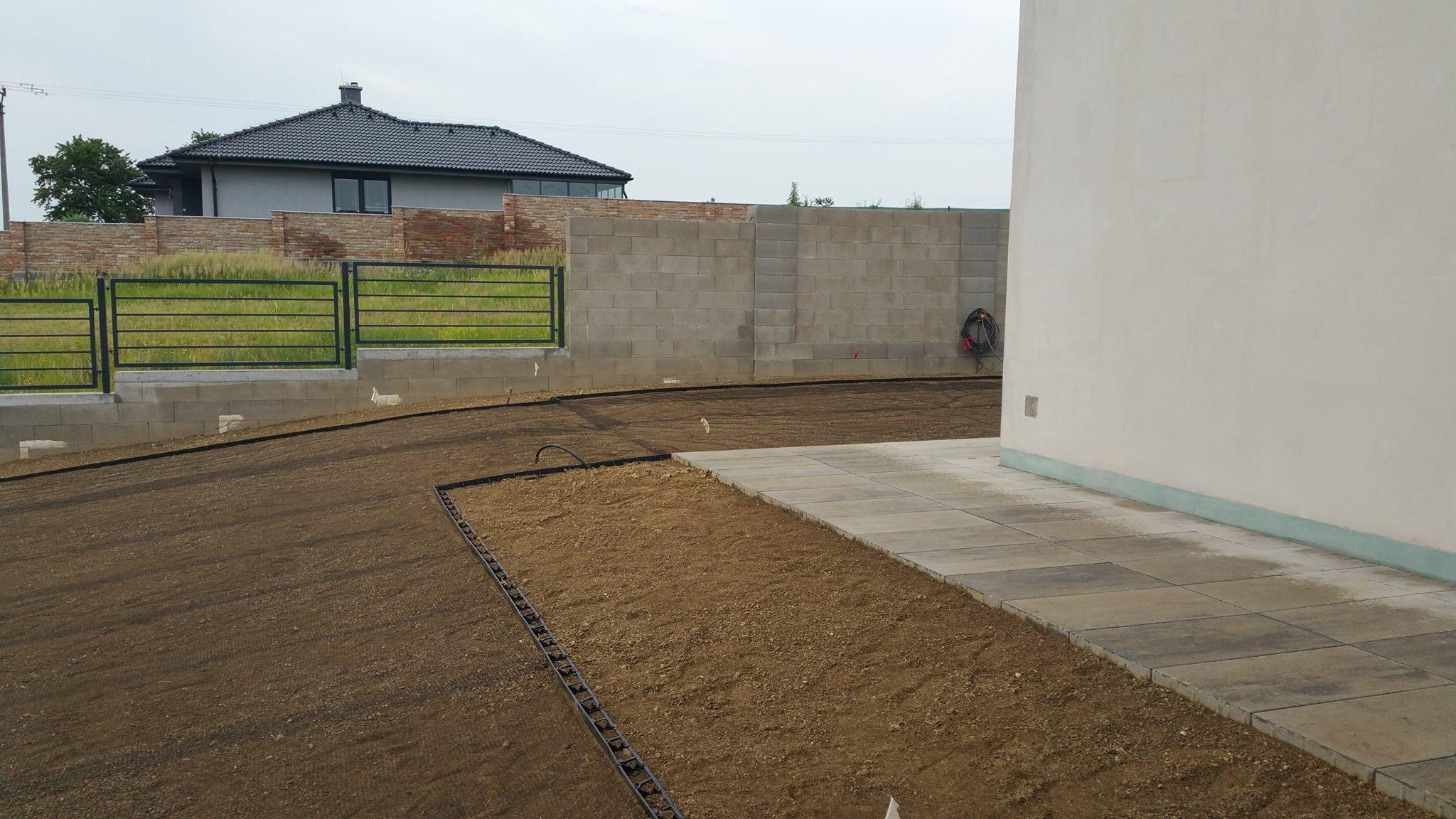 Exteriérové dlažby a dokončovacie práce