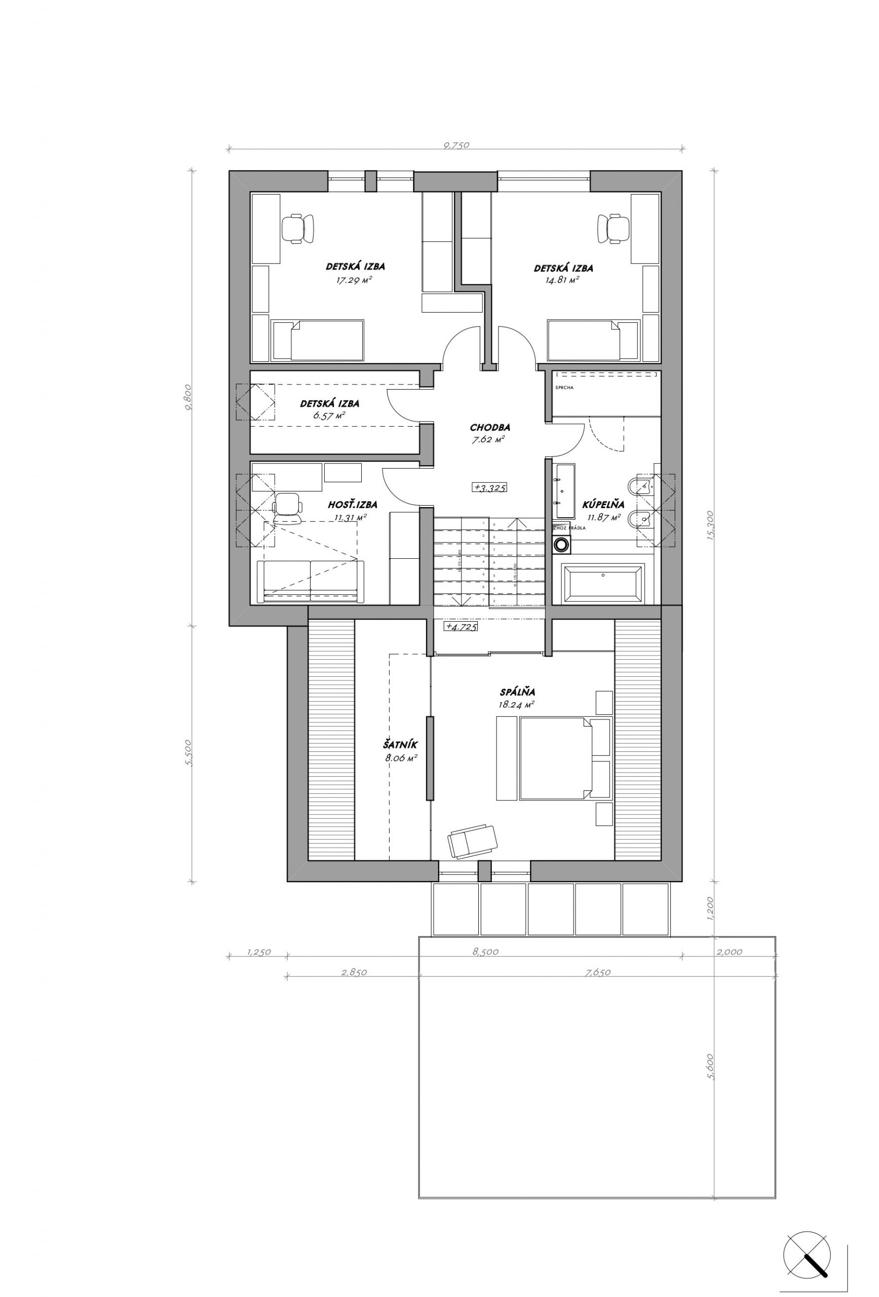 RD Ružindol - dom vo svahu